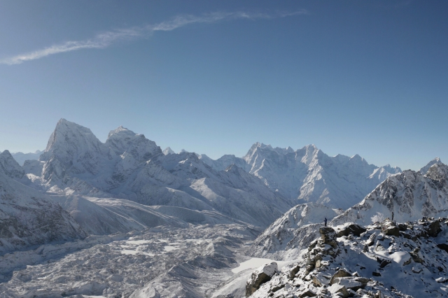 360° time passingr through the beauty Gokyo